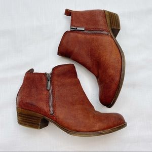 Lucky Brand Basel Ankle Booties Women's 6M